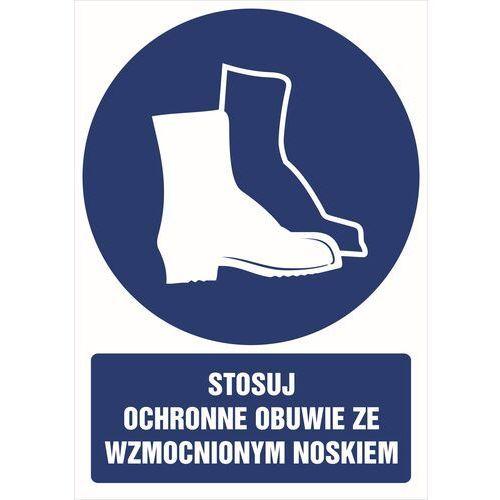 Stosuj ochronne obuwie ze wzmocnionym noskiem marki Top design