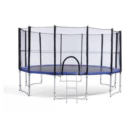457 cm - trampolina ogrodowa z siatką zabezpieczającą + drabinka gratis! marki Athletic24