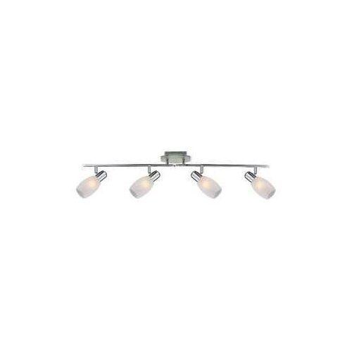 Globo Listwa lampa oprawa sufitowa cyclone 4x40w e14 chrom/srebrny 54917-4