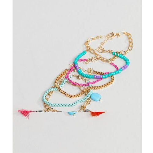 blue multi bracelet pack - multi marki South beach