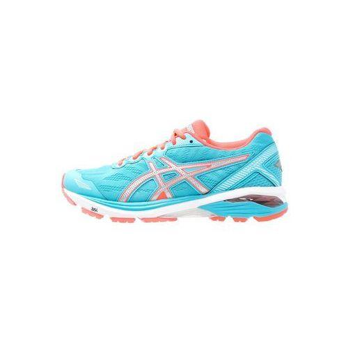 Asics  gt1000 5 obuwie do biegania stabilność aquarium/silver/flash coral (8718833813484)