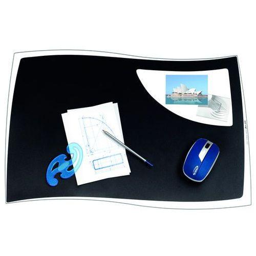 Podkładka na biurko isis, 63x42cm, czarna marki Cep
