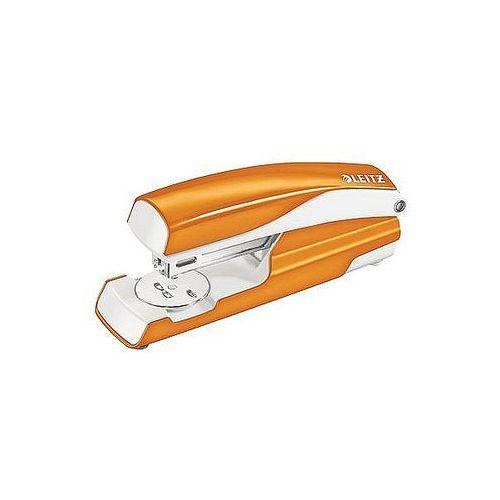 Zszywacz średni metalowy LEITZ WOW metaliczny pomarańczowy 30 kartek 55021044