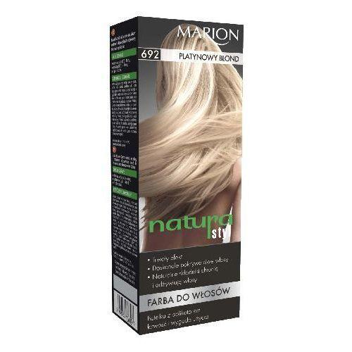 Marion  farba do włosów natura styl nr 692 platynowy blond