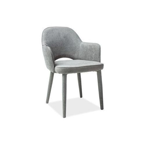 Signal Krzesło metalowe robin szary loft
