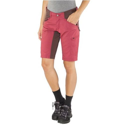 Lundhags makke spodnie krótkie kobiety czerwony 46 2018 szorty codzienne