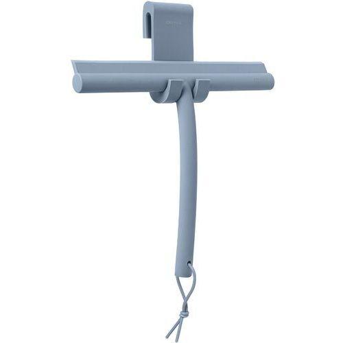 Blomus Błękitna ściągaczka do kabiny prysznicowej z uchwytem vipo (b69204)
