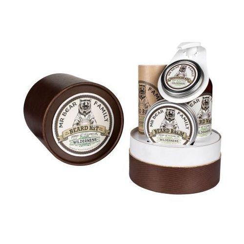 wilderness zestaw prezentowy w tubie do brody i wąsów od producenta Mr bear family
