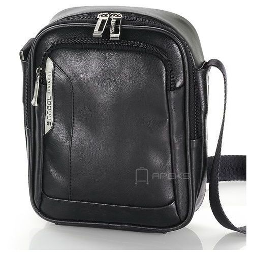 Gabol Shadow męska torba na ramię na tablet 8'' / czarna - czarny