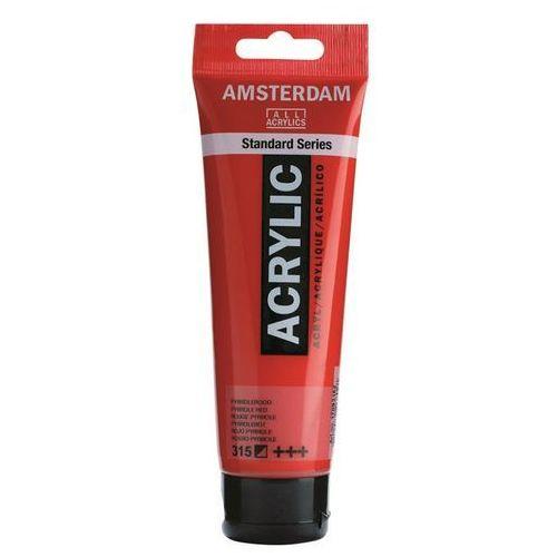 Talens amsterdam acryl farba 315 pyrrole red 120ml