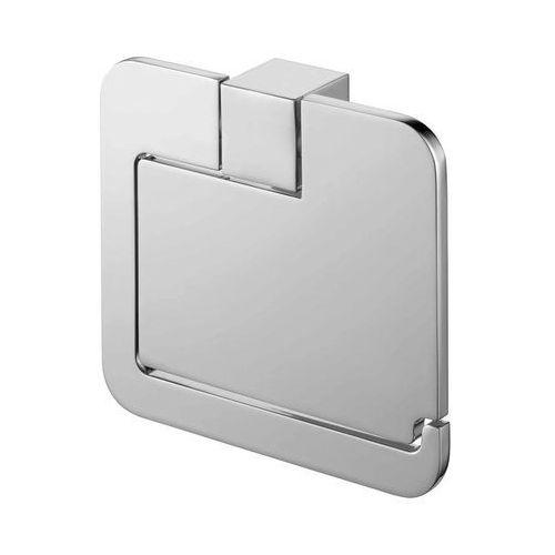 uchwyt WC z klapką Bisk Futura Silver 02991, 02991