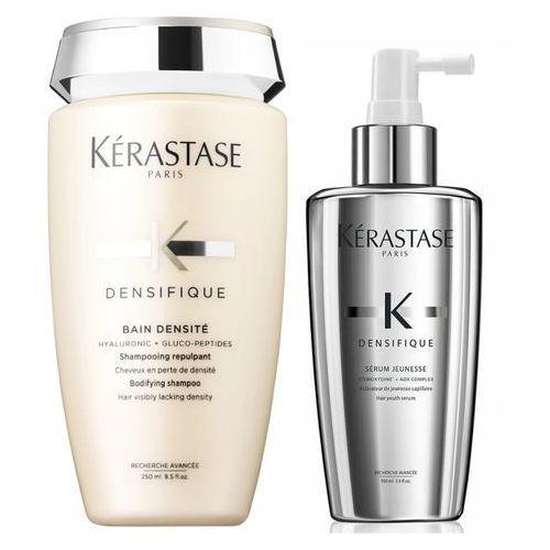 densifique | zestaw zagęszczający: kąpiel 250ml + serum zwiększające objętość 100ml marki Kerastase