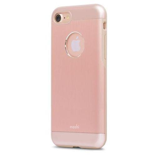 Etui aluminiowe Moshi Armour iPhone 7 - golden rose z kategorii Futerały i pokrowce do telefonów