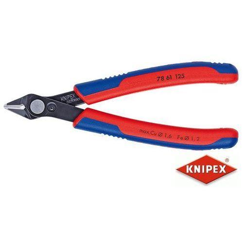 obcinaczki dla elektroników super knips 125mm, dwukomponentowe (78 61 125) marki Knipex