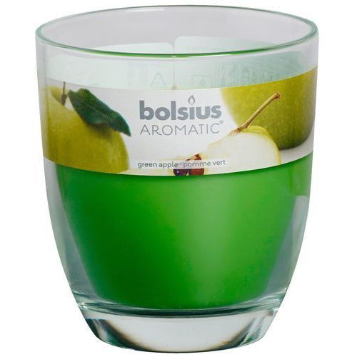 Bolsius Świeca zapachowa big jar zapach: zielone jabłuszko