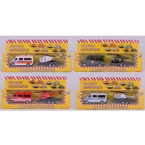 Daffi Zestaw pojazdów ratunkowych, różne rodzaje