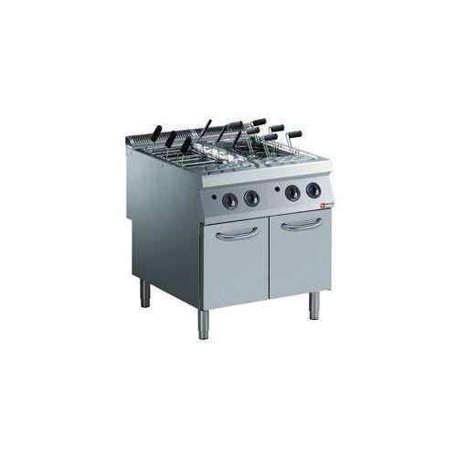 Urządzenie do gotowania makaronu z szafką | gazowe | 2x 40L | 33kW | 800x900x(H)850/920mm