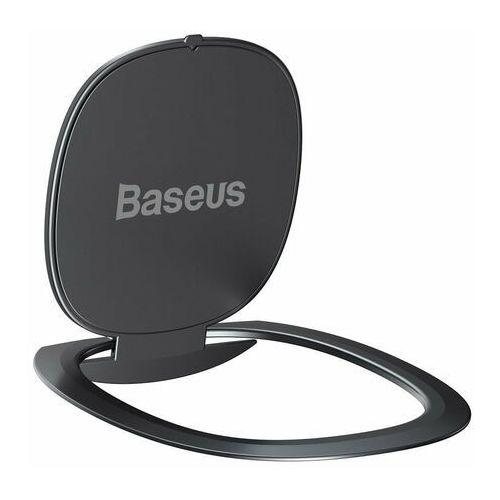 Baseus ultracienki samoprzylepny uchwyt ring podstawka do telefonu szary (suyb-0a) - szary