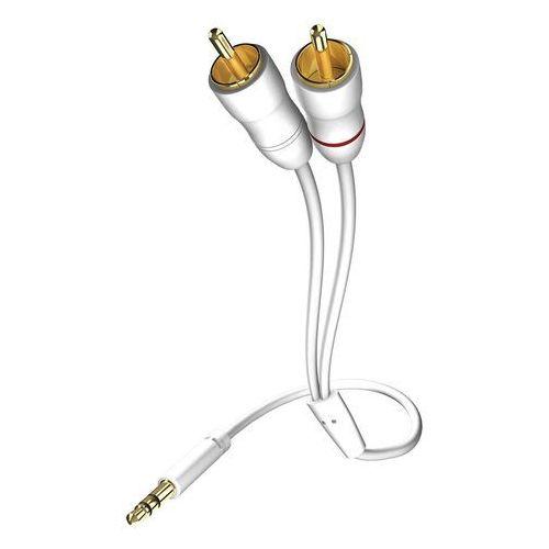 Inakustik star kabel jack 3,5 mm - 2x rca, 0,5 m