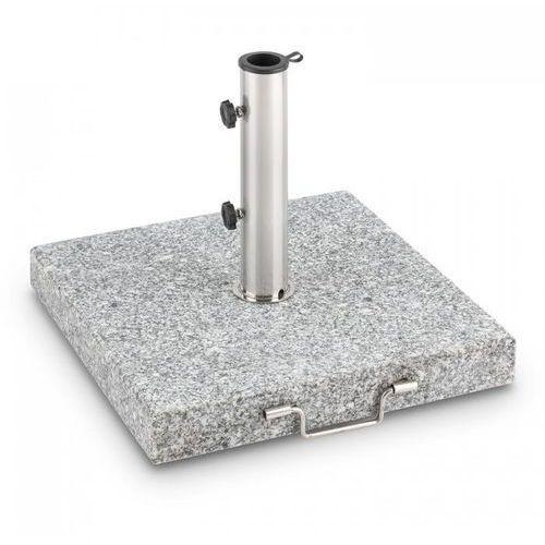 Blumfeldt Schirmherr 30SQ podstawa na parasol przeciwsłoneczny stojak 30 kg granit szary polerowany
