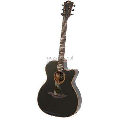 Lag  gla-t100 ace-blk gitara elektroakustyczna tramontane