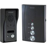 Zestaw domofonowy ORNO DOM-RE-914 Eluvio jednorodzinny Czarny + DARMOWY TRANSPORT!, OR-DOM-RE-914/B
