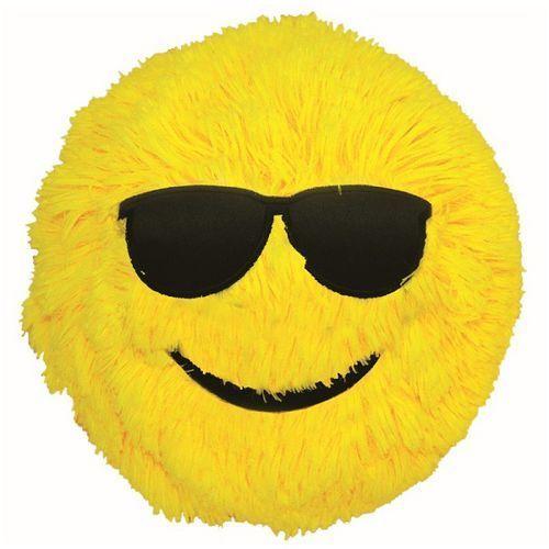 D.rect Piłka fuzzy ball s'cool smarty żółta s (5902308714175)