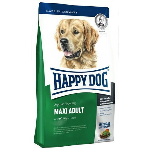 HAPPY DOG Supreme Fit & Well Adult Maxi 1kg (4001967015713)