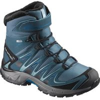 Salomon salomon buty dziecięce xa pro 3d winter ts cswp j mallard blue/reflecting pond/mykonos blue 34