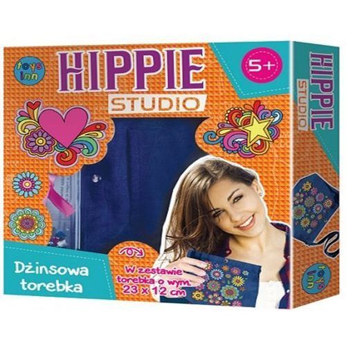 Stnux Hippie studio zestaw z jeansową torebką