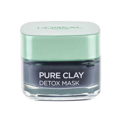 L'oréal czysty promieniowanie intensywne czyszczenie maski na bazie gliny (detox maska) (objętość 50 ml)