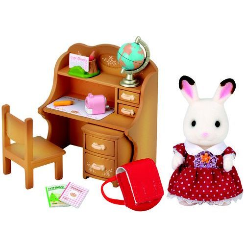 Sylvanian Families Zestaw z siostrą królików biurko*