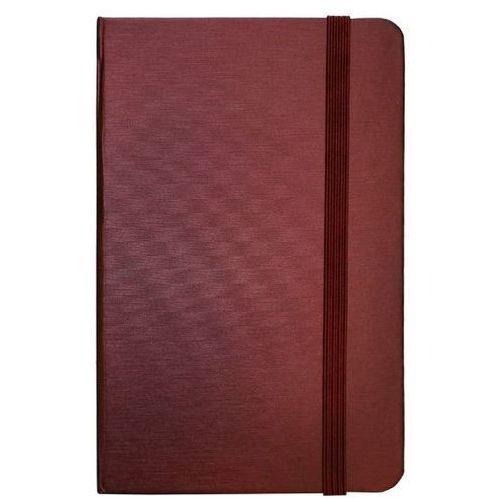 Notes A6 96 kartek w linie burgund - INCOOD. DARMOWA DOSTAWA DO KIOSKU RUCHU OD 24,99ZŁ
