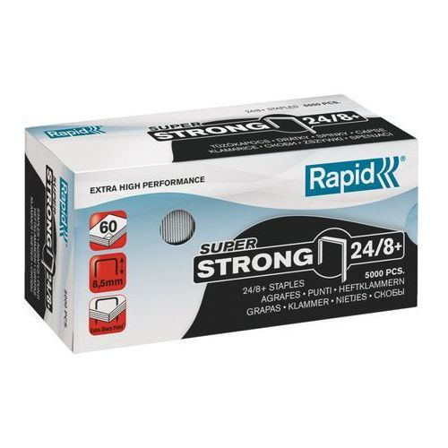 Zszywki RAPID super strong 24/8+ (7313468601003)