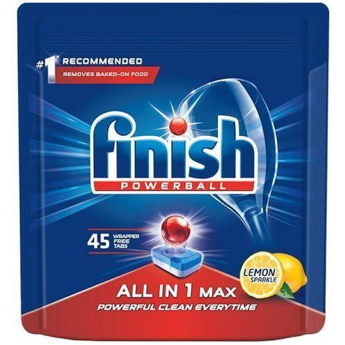 Tabletki all in 1 max cytrynowe (45 sztuk) marki Finish