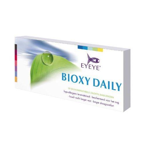 soczewki jedniodniowe bioxy daily +0,50 - 30 sztuk, marki Eyeye