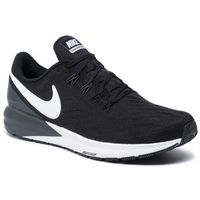 Nike Buty - air zoom structure 22 aa1636 002 black/white/gridiron
