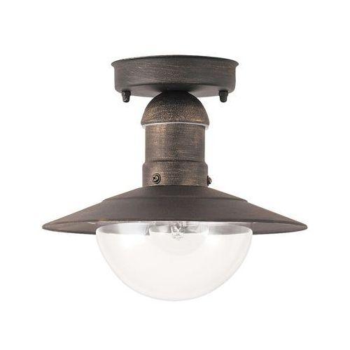 Plafon zewnętrzny lampa sufitowa oslo 1x60w e27 ip44 antyczne złoto 8736 marki Rabalux