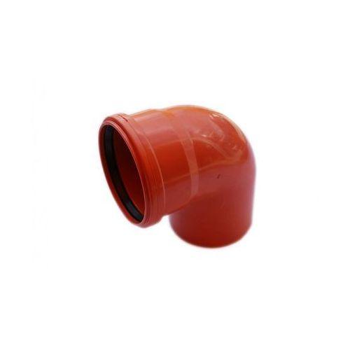 Poliplast Kolano kanalizacji zewnętrznej 110 mm/90°