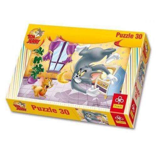 Trefl Puzzle owocowa bitwa toma i jerrego (5900511181500)