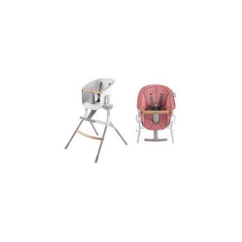 Krzese�ko do karmienia + mi�kki wk�ad up&down (pink) marki Beaba
