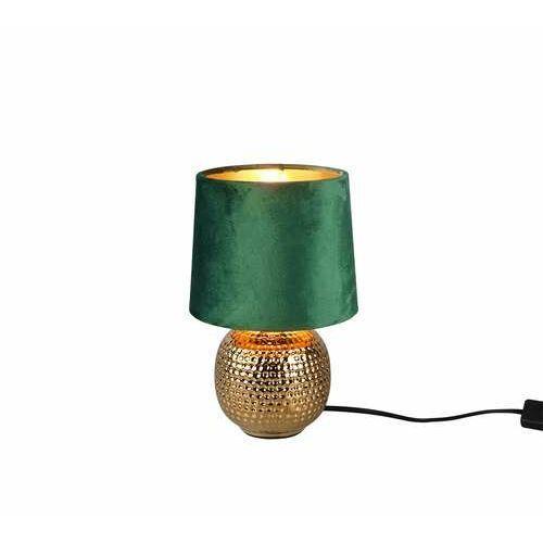 Trio rl sophia r50821015 lampa stołowa lampka 1x40w e14 złota/zielona