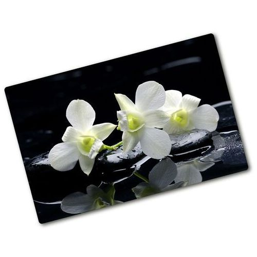 Deska do krojenia szklana orchidea marki Wallmuralia.pl