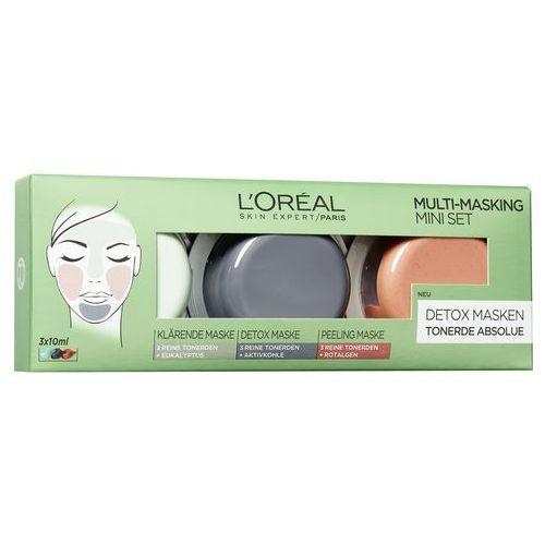 L'Oréal Paris tlenku glinu Absolue Multi Masking zestaw, -częściowy Pack (3 x 10 ml)