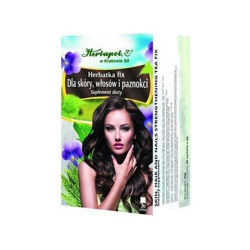 Herbatka fix dla skóry, włosów i paznokci x 20 saszetek marki Herbapol kraków