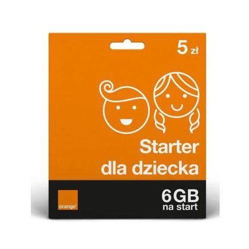 Orange Starter bezpieczny starter dla twojego dziecka 5 pln