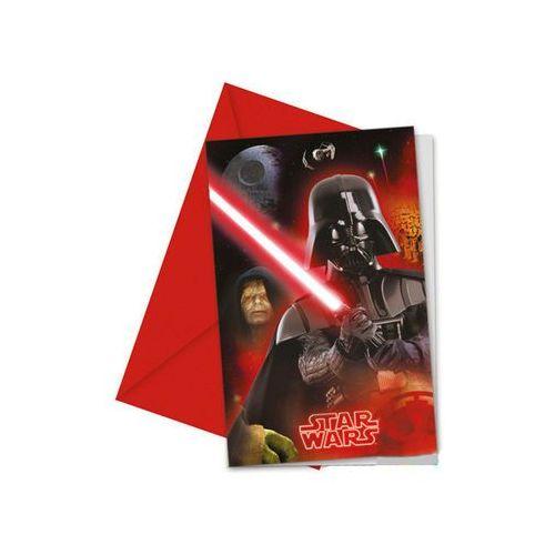 Zaproszenia urodzinowe Star Wars & Heroes - 1 szt.