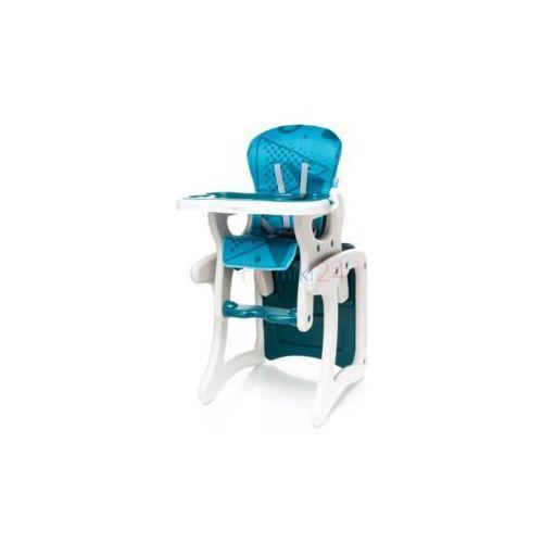 krzesełko do karmienia fashion turkusowe marki 4baby