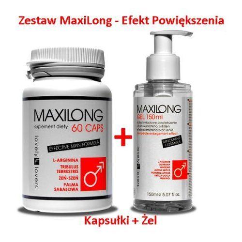 Maxilong 60 kaps. + Maxilong żel 150 ml Zestaw powiększający penisa