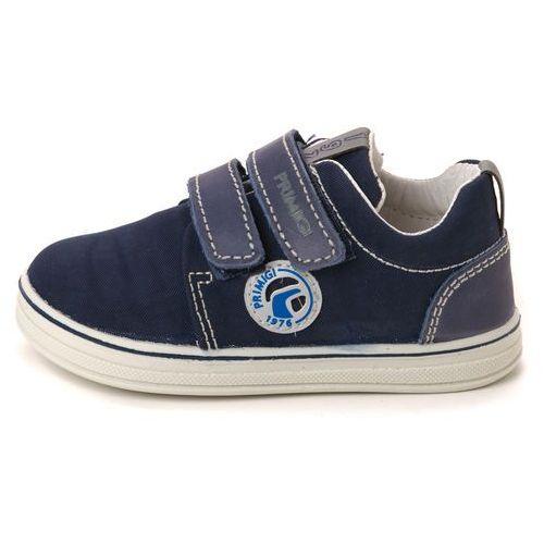 tenisówki chłopięce 24 ciemnoniebieski marki Primigi